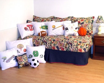 All Sports Twin Comforter