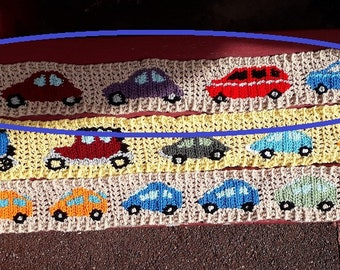 Autodas, sturdy scarf in soft acrylic