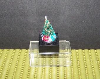 table top dollhouse miniature christmas tree