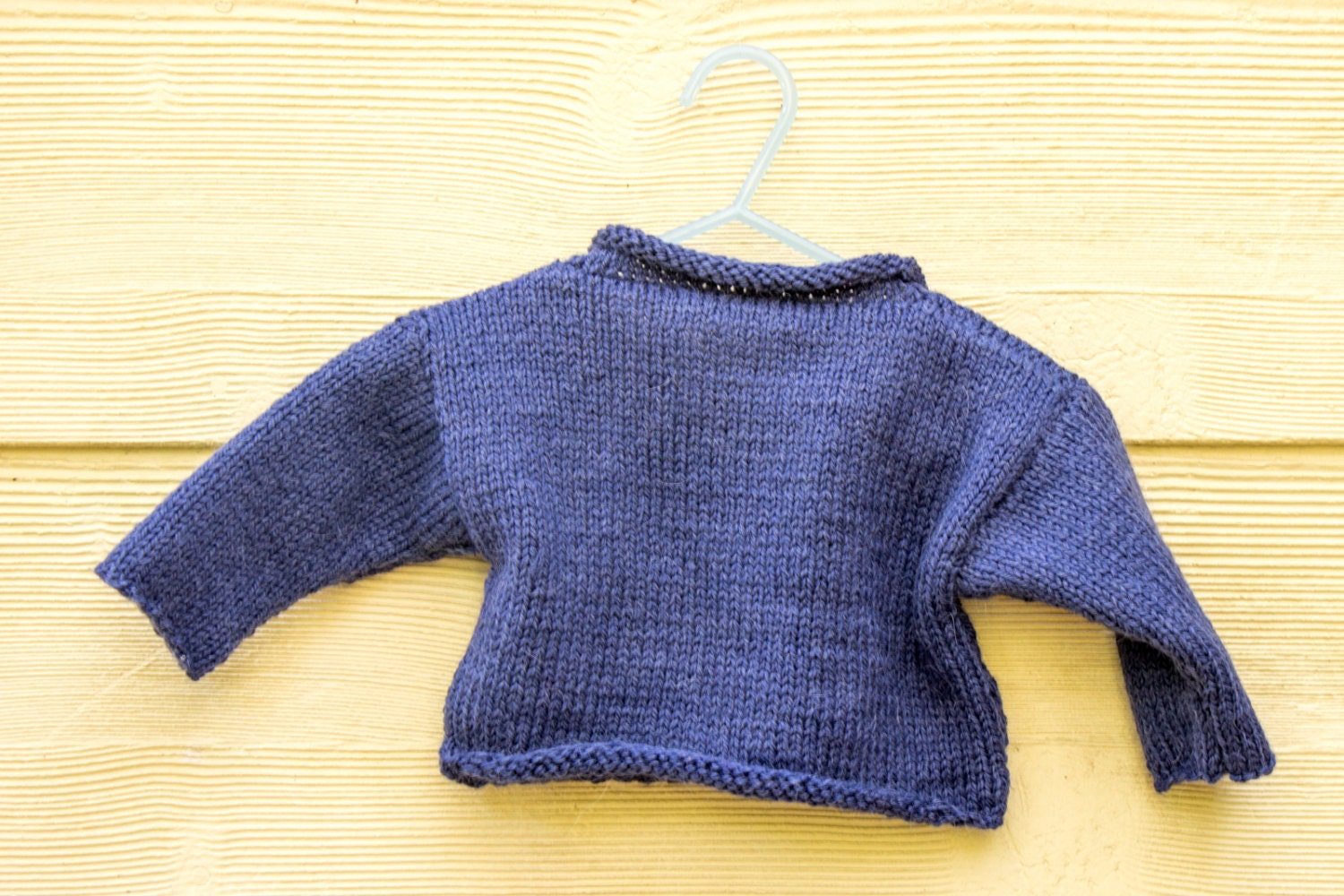 KNITTING PATTERN, Baby Sweater, Baby Jumper, Easy Baby Sweater ...