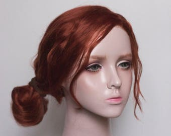 Triss Merigold from Witcher 3 III cosplay lace front wig - Made to order