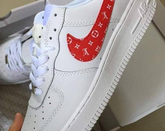 Painted Airforce shoes Custom Supreme Painted Vans Men's Shoes Women's Shoes custom