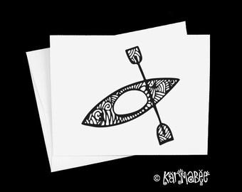 Kayak Notecards
