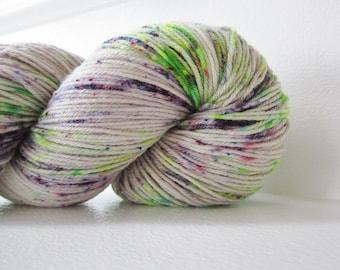 Hand dyed Superwash Merino & Nylon Sock Yarn - Cam