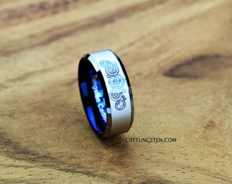 Doctor who ring Etsy