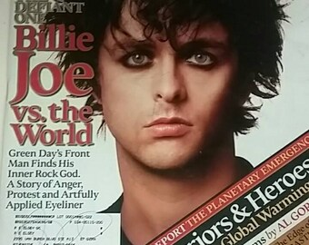 Green Day Rolling Stone Magazine November 2005 Music Collectible Magazines