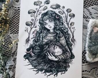 Alba's Dream 5x7 art print