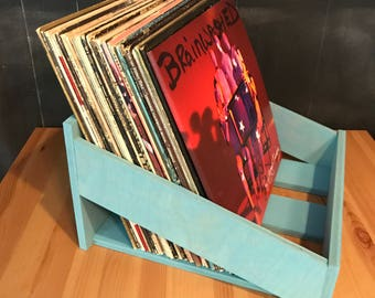 Stained LP Display Crate