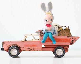 Vintage Bunny Rabbit Pixie Doll, Japan