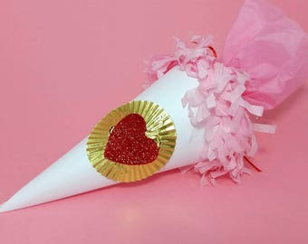 Surprise balls, valentine's day gifts, cornucopia