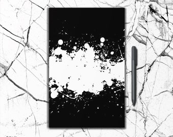 Big Bang Ink Blots Journal - Large and Small, Black and White