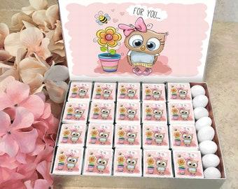 Birthday Gift Chocolates - Personalized Custom Gift Chocolates for Girls