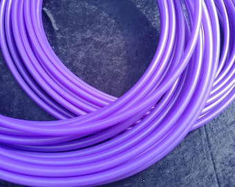 Purple Iris PolyPro Collapsable for Travel with Push Pin Lock dance performance hula hoop