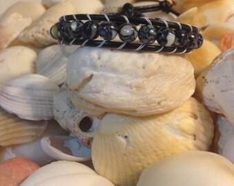 Single Wrap Beaded Bracelet