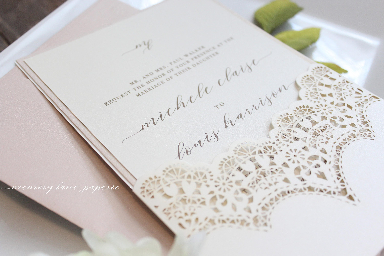 Cream And Gold Wedding Invitations: Rose Gold Wedding Invitations Cream And Rose Gold Wedding