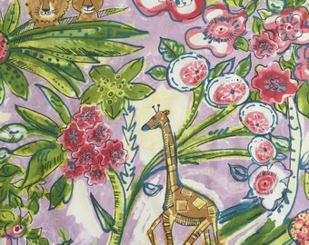 custom baby blanket ~ floral jungle safari ~ chic couture ~ baby accessories ~ custom made baby blanket from lillybelle designs