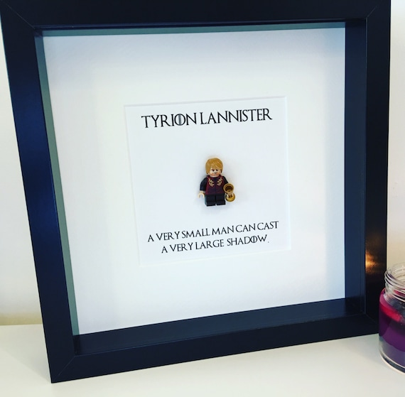 Game of Thrones Tyrion Lannister Custom Minifigure in 3d Box