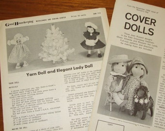 1966 Cover Dolls Pattern- Kate Greenaway Tradition-Women's Day Magazine, Plus Bonus Patterns