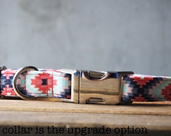Azteca | Aztec Inspired Handmade Collar / Shades of Pinks and Blues