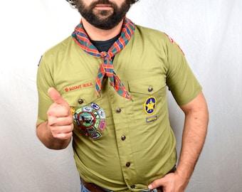 Vintage Boy Scout Neckerchief Scarf
