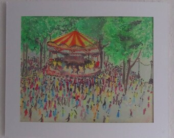 Carousel Print