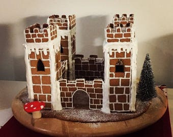 Gingerbread / cookie castle - cutter set