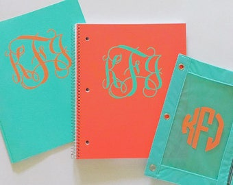 3 pack Personalized School Supplies