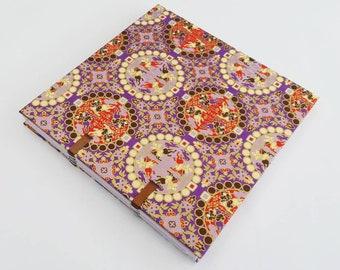 Notebook binding Coptic Japanese paper