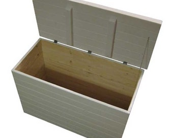White Storage Chest