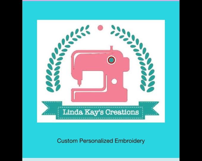 Custom order for custom design