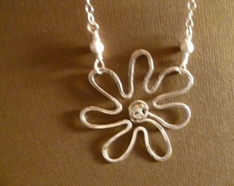 Funky Flower Power Necklace