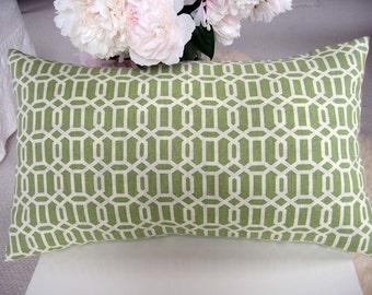 Trellis Pattern Pillow Cover