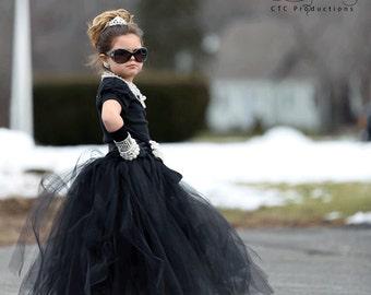 Breakfast at Tiffany's Tutu Skirt | Breakfast At Tiffany's Tutu Skirt | Mini Audrey Hepburn Tutu | Black Tutu Skirt | Black Tutu