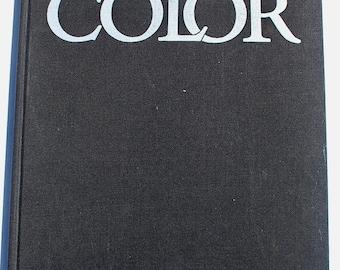 Color Helen Varley 1980 vintage graphic design art color theory book