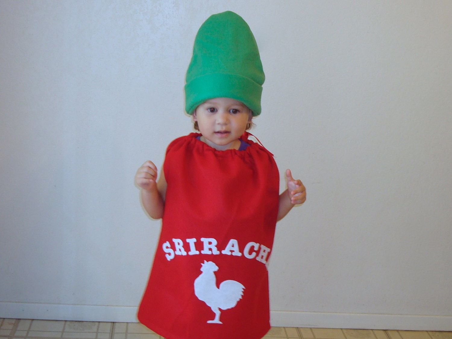 ?zoom  sc 1 st  Etsy & Kids Costume Sriracha Halloween Costume Hot Chili Sauce