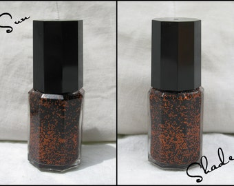 Great! Pumpkins! - Labracadabra Orange & Black Glitter Halloween Nail Polish