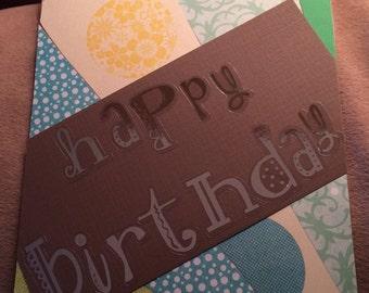 Sunburst Birthday Card