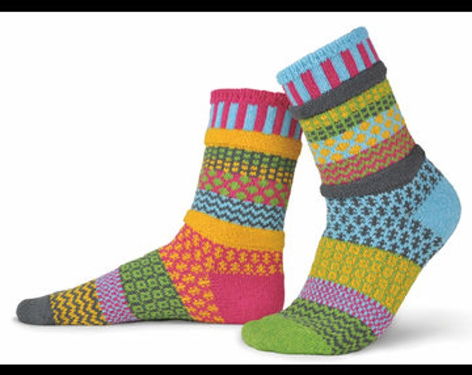 Solmate Socks - Freesia Crew