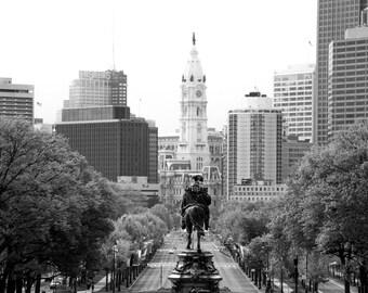 Ben Franklin Parkway - Philadelphia Photo  - Wall Decor - Philadelphia Photography - Philadelphia Art - Modern - Luxury Art
