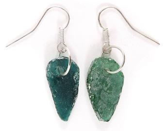 Ancient Roman Glass Earrings Beads Afghanistan 119441