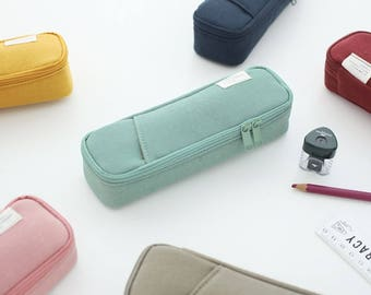 Pocket Pencil Pouch [ 6 Colors ] Ver.3 , Pencil Holder , Pencil Case