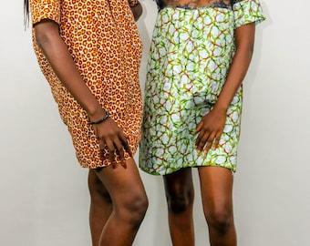 Classic Wax and net dress