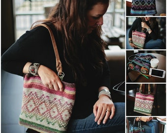 Instant PDF Download, Amazing Bag, Crochet Pattern