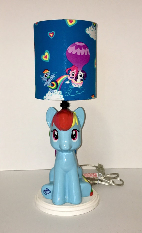 My Little Pony Lamp With Lampshade