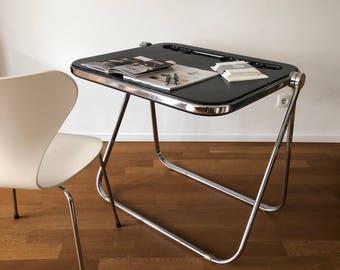 70s Platon folding table by Giancarlo Piretti for Anonima Castelli