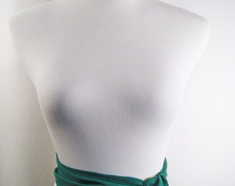 Wedding Sash - Kelly Green Chiffon Sash - Long Sash Belt Tie - Emerald Green Bridal Sash - Kelly Green Wedding Sash - Multi Width