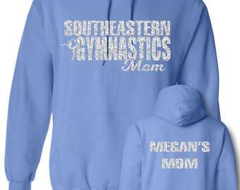 Custom Gymnastics Mom Hoodie