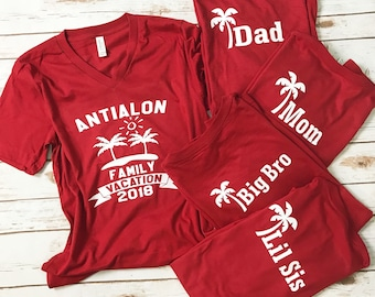 Family Shirts - Vacation Shirts - Holiday Shirts - Matching Shirts - Trip Shirts - Graphic Tees - Business Shirts - Customize Shirts