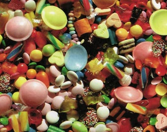 Decopatch 30 x 40 cm - sweets N 462 - Ref FDA462 - until the stock sheet!