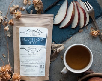 Mount Hood Hops | ORGANIC  | PNW Gift Herbal | Winterwoods Tea Company Loose Leaf Sleepy Tea